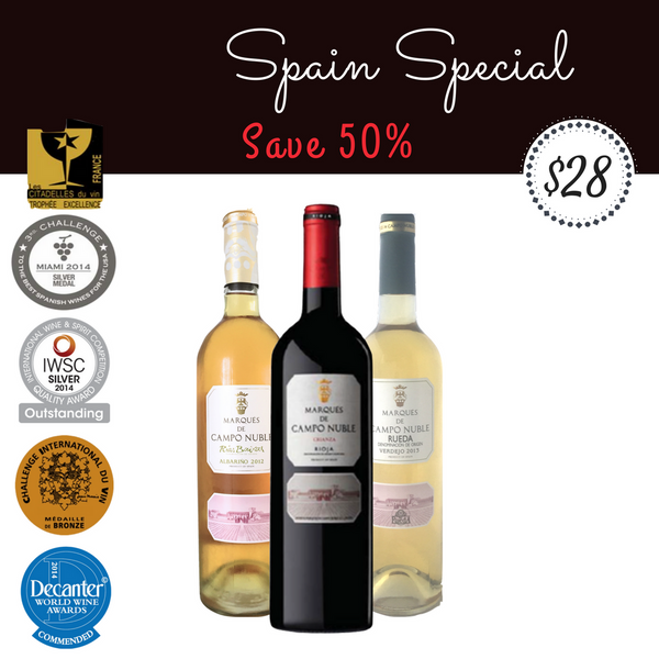 SPAIN PACKAGE (3 BOTTLES)