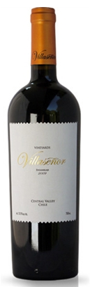 From Maipo Region in Chile, Villasenor blend is made of Carmenere, Cabernet Sauvignon, Syrah and Merlot.  Boutique wine.
