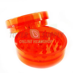 Plastic herb grinder size medium