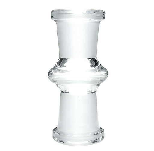 14mm Female to 14mm Female Glass Adapter - Toker Supply