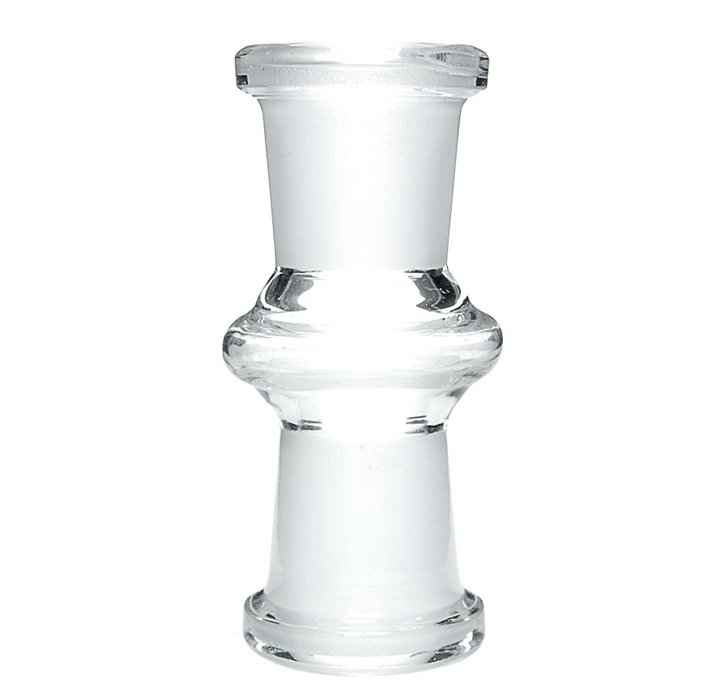 14mm female to 14mm female adapter glass bong attachment