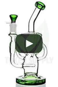 6 Arm Inline Perc Recycler