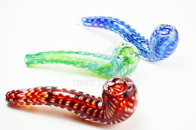 Bubble Glass Sherlock Glass Pipe