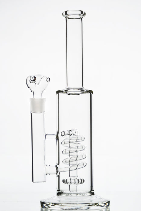 Coil Showerhead Perc Water Pipe - Toker Supply