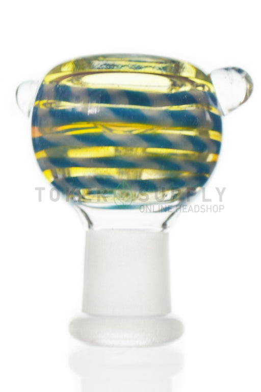 Colored Glass Female Bowl
