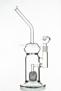Crystal Ball Perc to Turbine Perc Water Pipe - Toker Supply