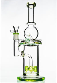 "Green Line ""Dripping Wet"" Quad Perc Recycler"
