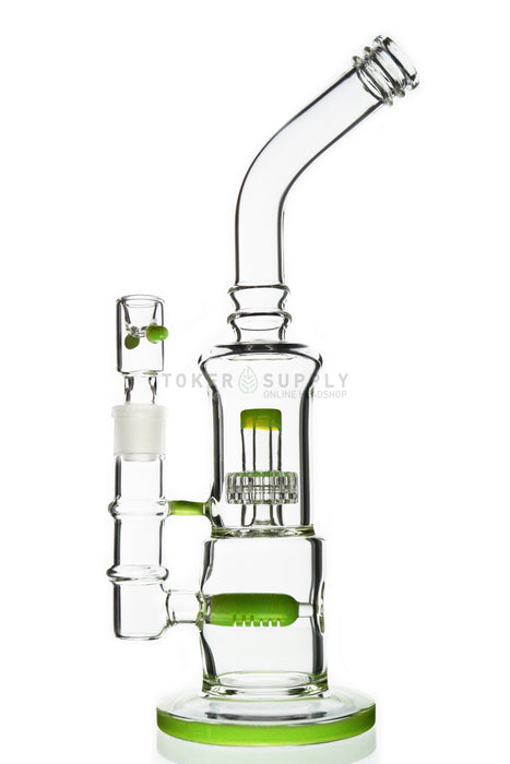 Inline Perc To Stereo Matrix Perc Bong - Toker Supply