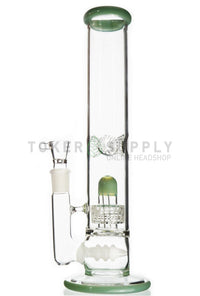 Inline Stereo Matrix Perc Water Pipe - Toker Supply