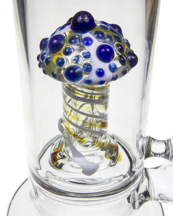 Inline to Mushroom Perc Water Pipe - Toker Supply