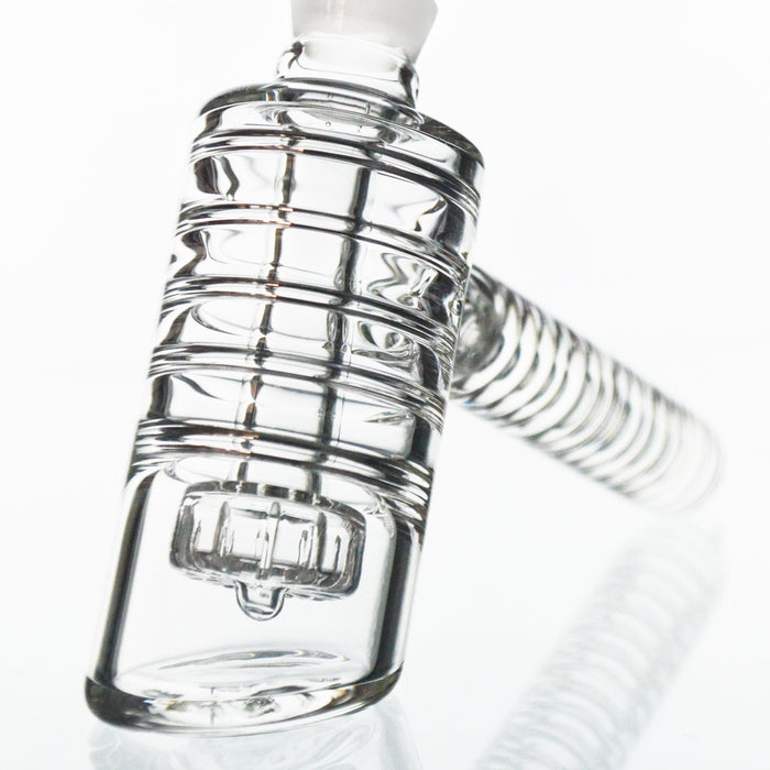 Ribbed Showerhead Perc Hammer Bubbler - Toker Supply