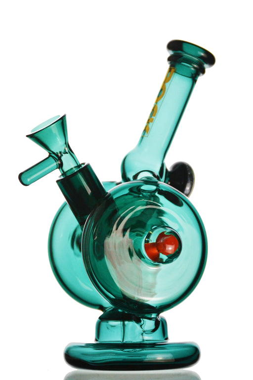 Rock Glass - Dual Wheel Recycler Rig - Toker Supply