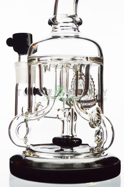 Shower Head Perc Three Chamber Recycler Water Pipe