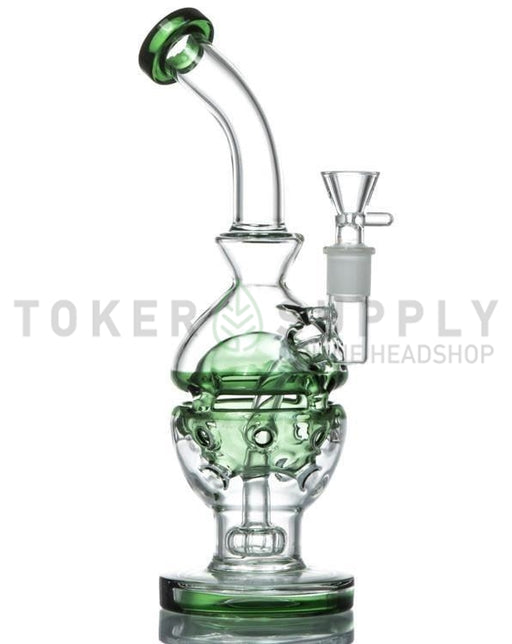Showerhead Circ Perc Faberge Egg - Toker Supply