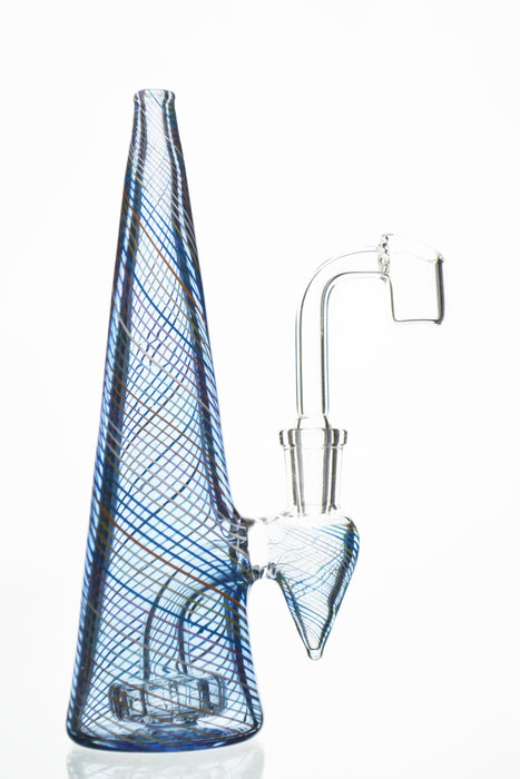 Showerhead Perc Pyramid Rig - Toker Supply