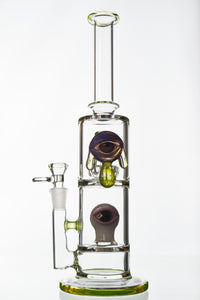 Slyme Drip Eye Showerhead Perc Water Pipe - Toker Supply