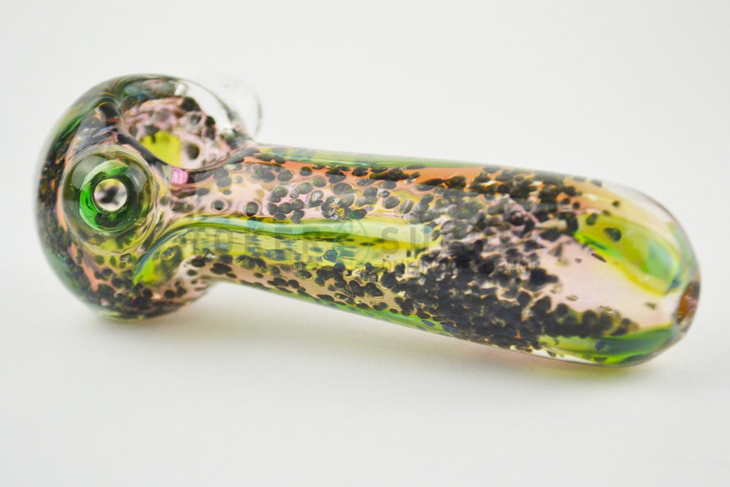 Spotted Color Glass Pipe