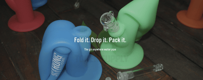 Strong Silicone - Portable, Unbreakable Water Pipe