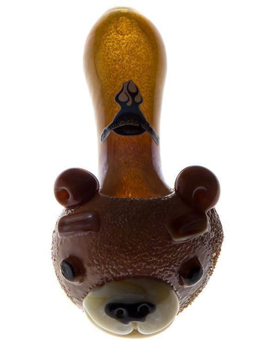 Teddy Bear Glass Pipe - Toker Supply