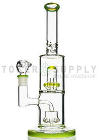 "The ""Daily Driver"" Circ Perc Water Pipe - Toker Supply"