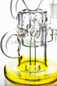 "The "" Hollow Hitter "" Fumed Glass Recycler"