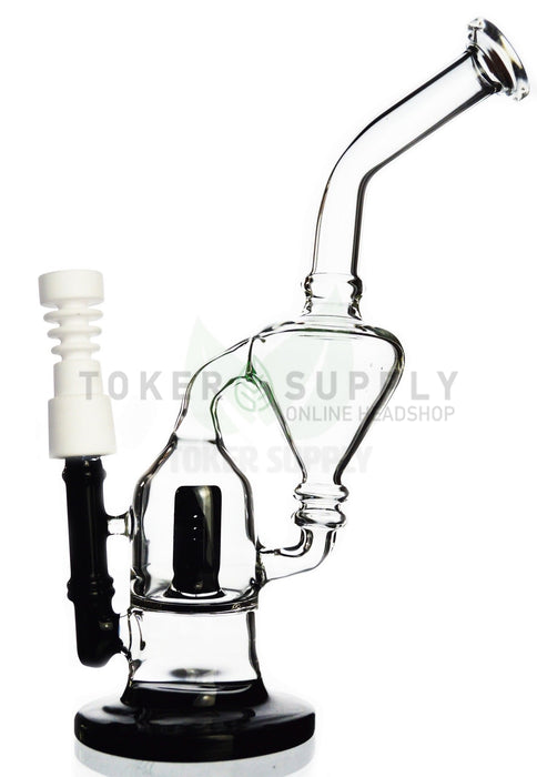 "The ""Short Cycle"" Diffused Inline Perc Recycler Rig"