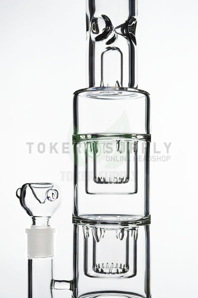 Thick Triple Inverted Showerhead Water Pipe