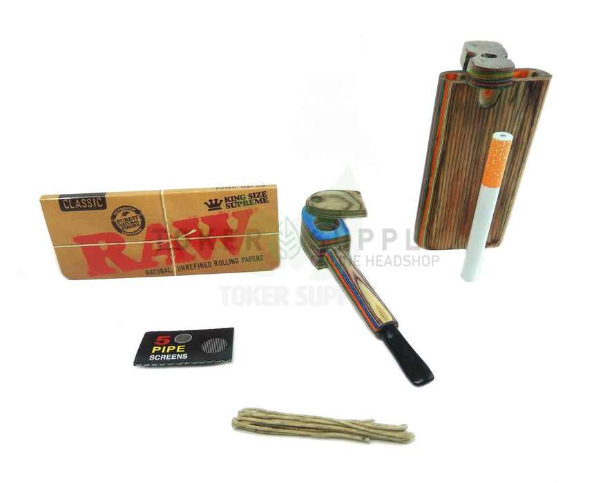 Toker Kit- Wooden Edition