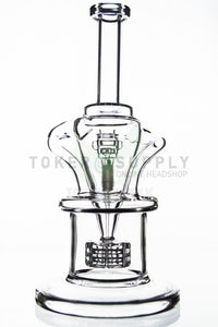 TokerSupply - Barrel Perc Dual Chamber Incycler