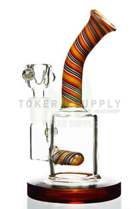TokerSupply - Inline Perc Micro Water Pipe