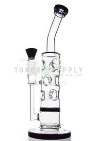TokerSupply - Swiss Honeycomb Perc Water Pipe