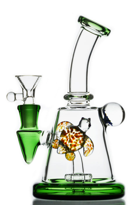 Turtle Showerhead Perc Water Pipe - Toker Supply