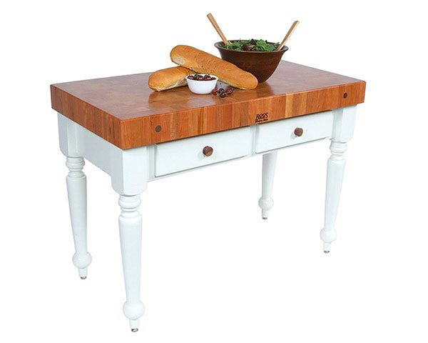 John Boos Rustica Cherry Table