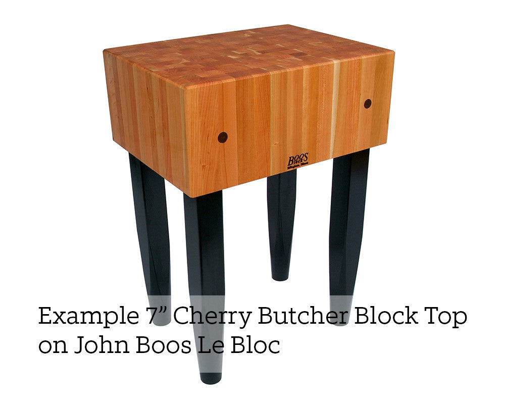 John Boos Cherry Block Top 7 Inch