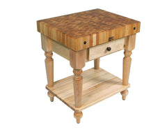 John Boos Cucina Rustica Natural Maple
