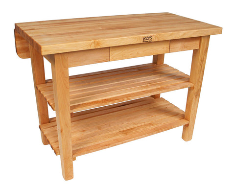 John Boos Kitchen Island Bar Maple