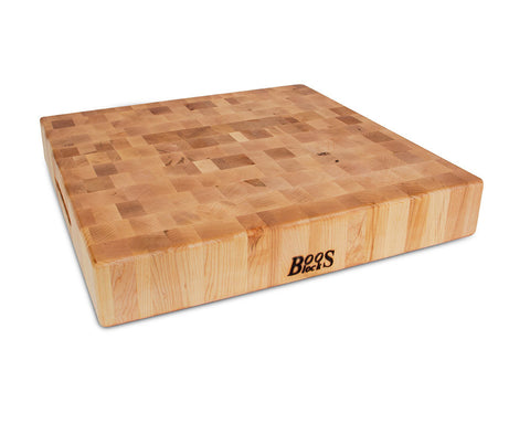 John Boos Maple Chopping Block 18 x 18 x 3