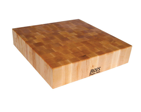 John Boos Maple Chopping Block 24 x 24 x 4