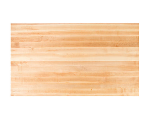 "John Boos Maple Kitchen Countertop (32"" to 48"" Wide, 2.25"" Thick)"