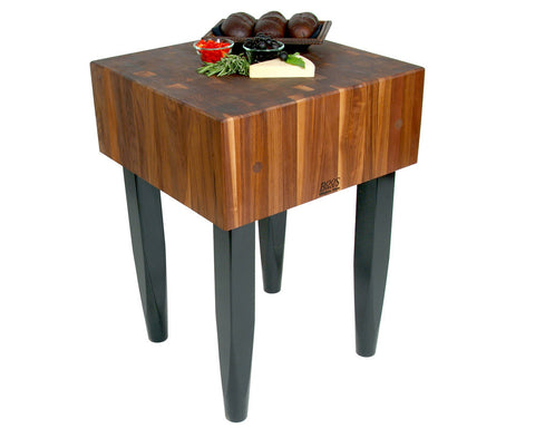 "John Boos PCA Walnut Butcher Block 30"" x 30"""