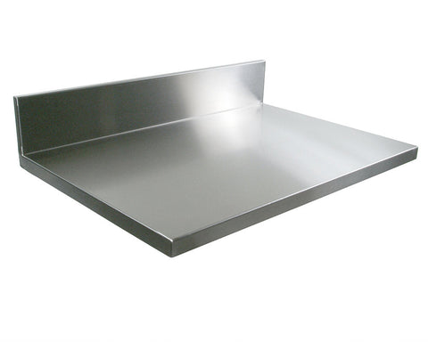John Boos Stainless Steel Countertop Backsplash