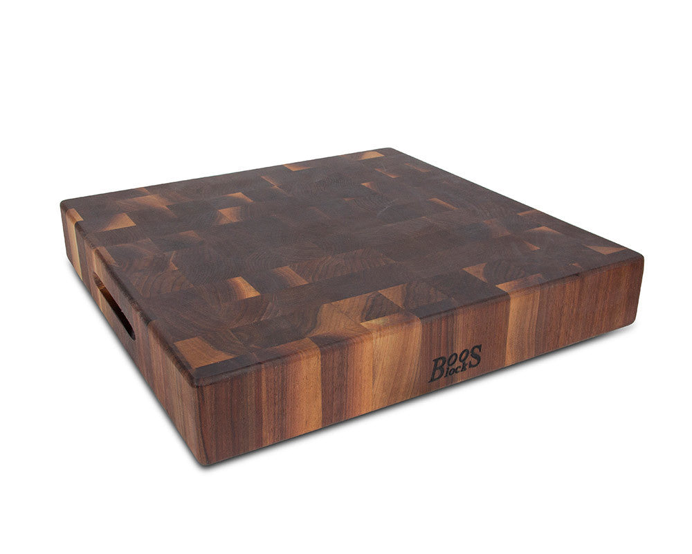 John Boos Walnut Chopping Block 18 x 18 x 3