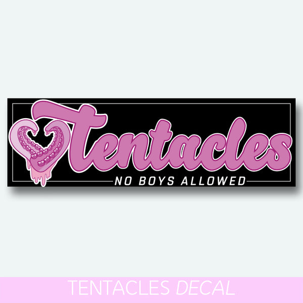 Tentacles no boys allowed - slap