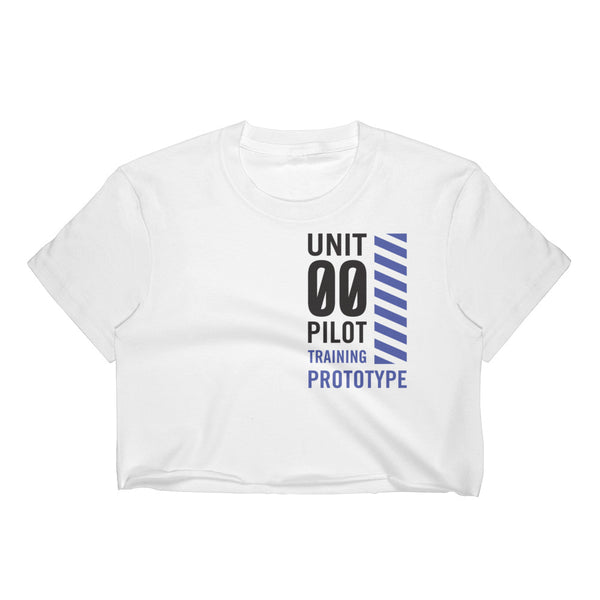 unit 00 training apparel - Crop Top