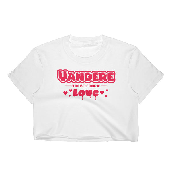 yandere blood crop - Top