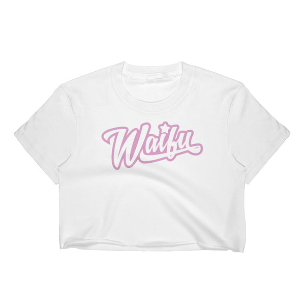 waifu - Women's sheer Crop Top