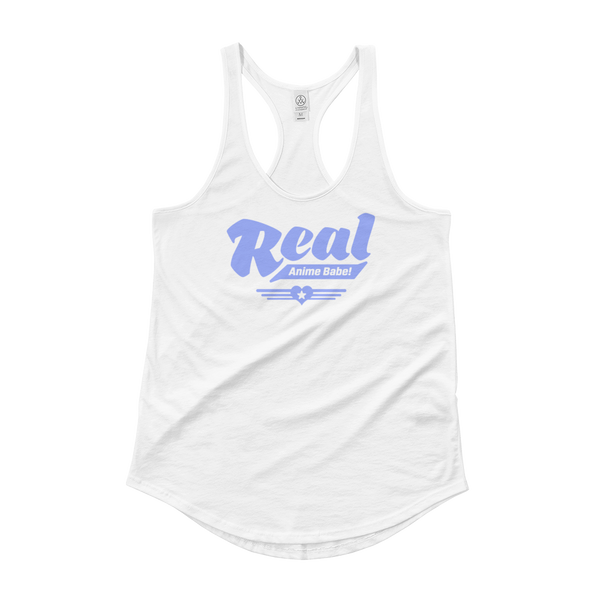 Real anime babe - Ladies' Shirttail Tank