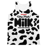thick and creamy milk - Unisex cut/sew Tank Top