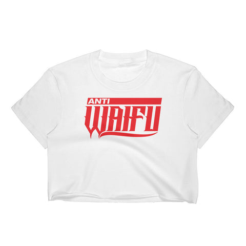Anti Waifu Crop Top