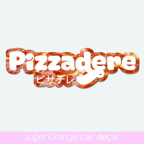 Pizzadere sticker slap